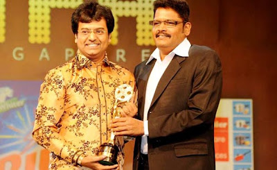 K.S.RaviKumar and Vivek in ITFA awards