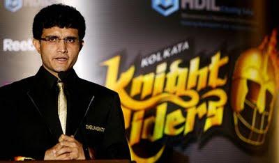 Ganguly IPL Kolkata Knight Riders