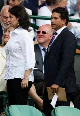 Sachin Wimbledon