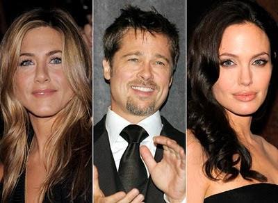 Brad Pitt Jolie Aniston