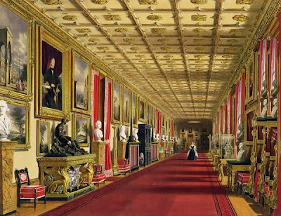 Windsor Castle South Corridor still