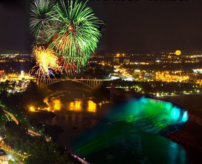 Niagara Falls - Fire Works