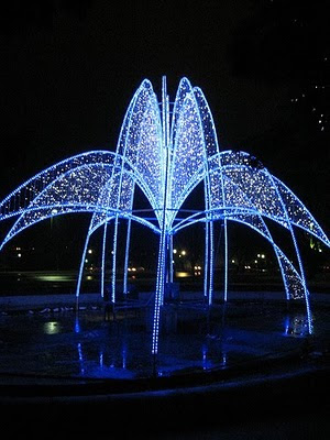 Winter Festival of Lights at Niagara Falls