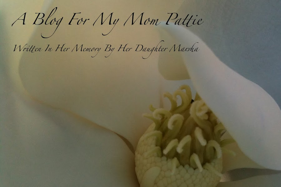 A Blog For My Mom Pattie