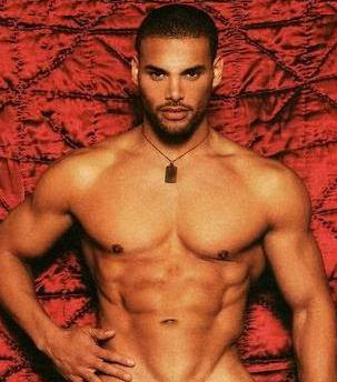 Re: Top 10 Black Male Models - African American Men Eye Candy