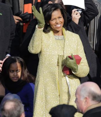 young michelle obama pictures. Then a young American designer
