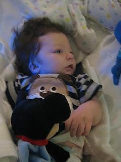 baby Mason recovers from gtube/fundo surgery