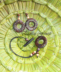 Matching Hair Tie and Earring Set