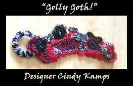 Golly Goth CUFF Bracelet