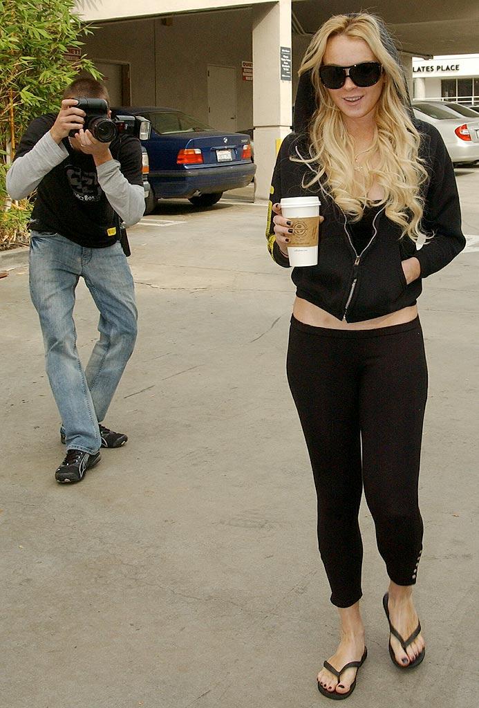 Teen girls wearing leggings