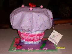 Unique Baby Diaper Cupcake!!!