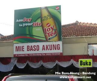 Kuliner 68 - Mie Baso Akung, Bandung