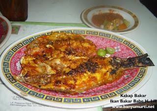 Kuliner 75 - Pondok Ikan Bakar Babe Lili, Jakarta