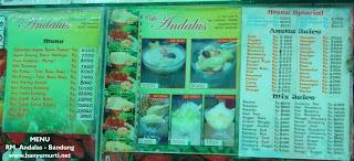 Kuliner 79 - Sop Buah Durian, RM. Andalas - Bandung