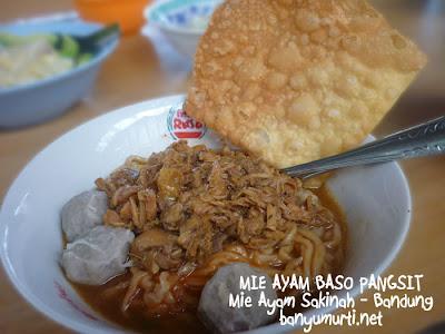 Kuliner 131 - Mie Ayam Sakinah, Bandung