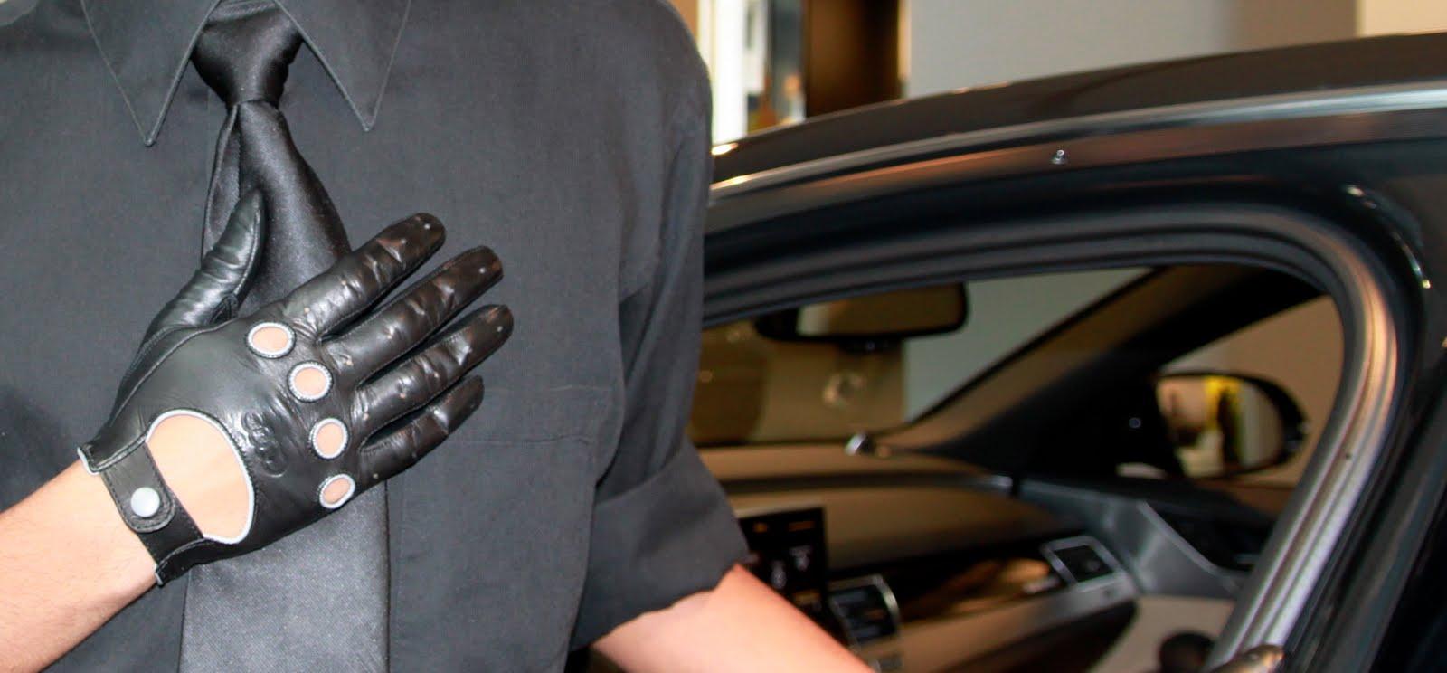 Gaspar leather driving gloves - Gaspar Gloves Spring 2011