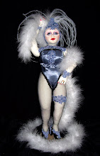 "Chantilly, Vegas Queen 18"" Cloth Doll OOAK"