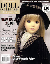 Little Victoria Pattern Published &amp; Crystal Doll