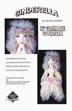 Cinderella Cloth Doll Pattern, 2010