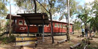 Rejser til Undara National Park, Queensland, Australien