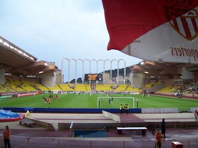 Football - Match au stade de Monaco