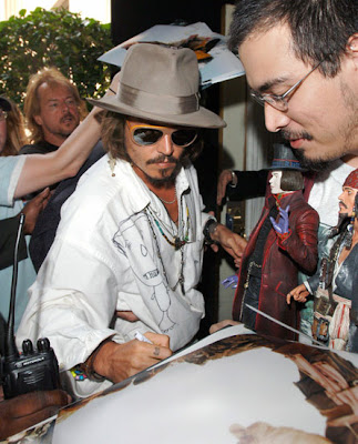 Johnny Depp Fedora hat