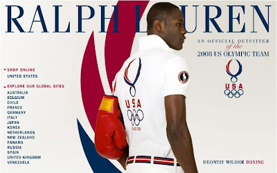 beijing china olympics uniform 2008 US USA United states america team detail results opening fashion blog photos ralph lauren edition offical outfitter