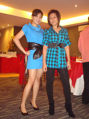 plaid blue black models filipina