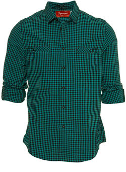 topman check gingham shirt men fashion