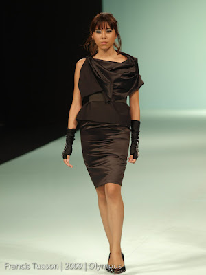 martin bautista philippine fashion week 2009 holiday collection runway photos model designers style