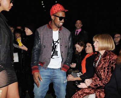 kanye west anna wintour