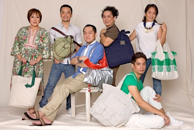 Ayala Malls Reusable Designer Bags Michi Calica-Sotto Randy Ortiz Louis Claparols Patrice Ramos-Diaz Jun Escario Vic Barba designers fashion