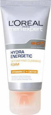 Loreal Men Expert Hydra Energetic Detoxifying Cleansing Foam