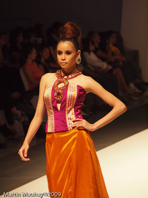 nicky martinez philippine fashion week spring summer 2010