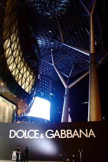 dolce gabbana ion orchard singapore fashion