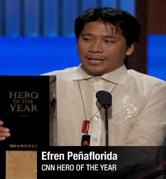 Efren Peñaflorida is CNN Hero of the Year ~ Runway2Reality