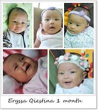 Eryssa Qiestina 1 month