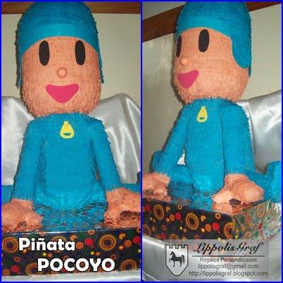 Como hacer piñatas de Pocoyo - Imagui