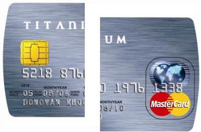 ANTHONY KHOR'S FAMILY BLOG: OCBC Titanium MasterCard