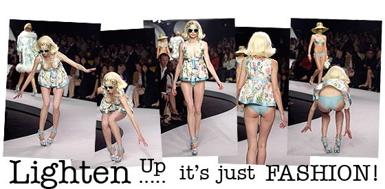 Lighten Up It's Just Fashion