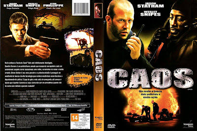 capa de DVD do filme Caos
