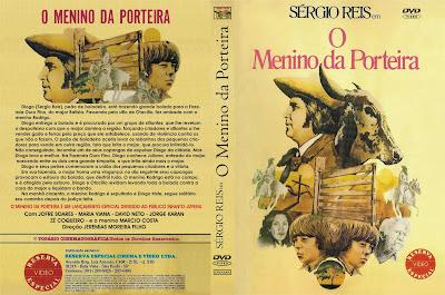 capa de DVD do filme O Menino Da Porteira
