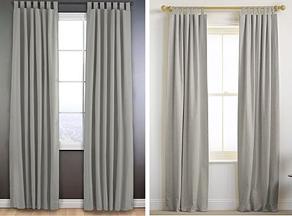 Tier curtains for a characteristic style