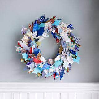 holly+leaf+wreath Gyerekekkel könnyedén elkészíthető Karácsonyi koszorúk