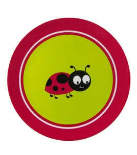 Kids Ladybug Plate