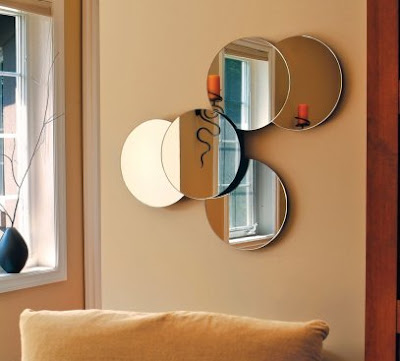 Solei 5 Circular Collage Mirrors