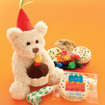 birthday celebration bear