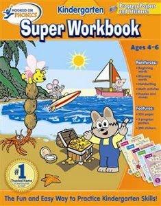Kindergarten Super Workbook