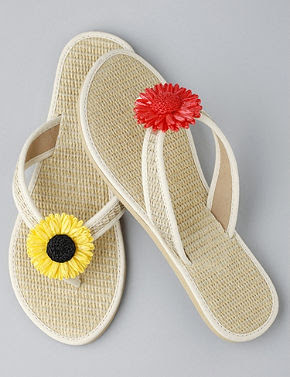 Strawflower Sandals