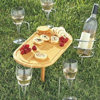 Steady stick Wine Glass Holder
